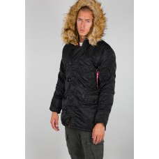 Alpha Industries Slimfit N3B Parka Black