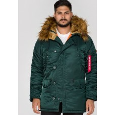 Alpha Industries Slimfit N3B Parka Dark Petrol