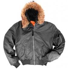 Knox Armory MA-1 Black Short Jacket
