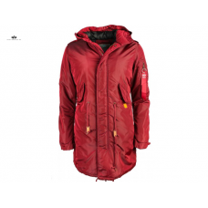 Alpha Industries Fishtail CW TT Lady Burgundy