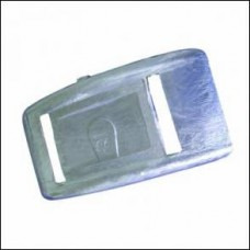 Lead weights curved