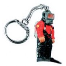 Diver Viking Key ring
